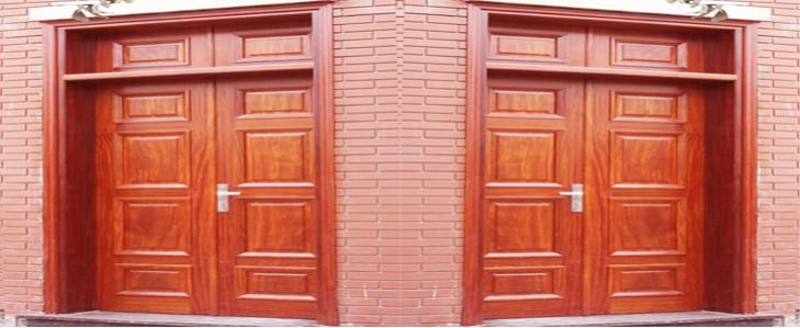 cửa gỗ lim2 cánh