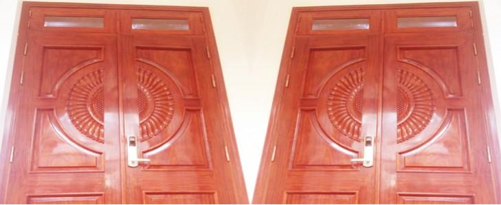 cửa vòm quạt