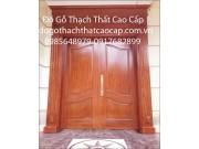 Mẫu cửa gỗ biệt thự M1