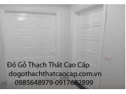 cửa gỗ sơn trắng 1 cánh đẹp M4