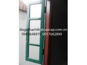cửa sổ sơn dầu đẹp cánh kính M15