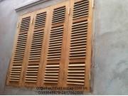 mẫu cửa sổ 4 cánh chớp gỗ lim nam phi đep M2