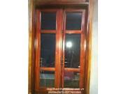 cửa sổ kính gỗ lim đẹp M7