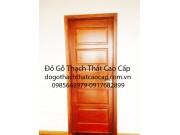 mẫu cửa gỗ dổi đẹp M13