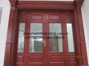 cửa 4 cánh mặt tiền đẹp M1