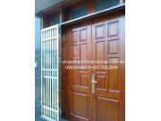 cửa 4 cánh gỗ lim lào M4