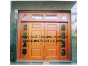 cửa gỗ 4 cánh gỗ sao đẹp M12
