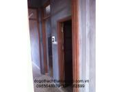 Khung bao cửa gỗ lim KC04