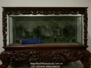 Bể cá gỗ gụ BC03