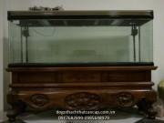 Bể cá gỗ gụ BC04