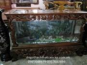 Bể cá gỗ gụ BC06
