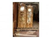 Đồng hồ cây gỗ ngọc nghiến ĐH-01