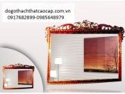 khung gương gỗ gụ KG05