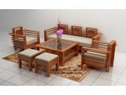 Bàn ghế salon gỗ sồi nga giá rẻ SL29