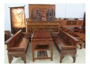 Trường kỷ gỗ Gụ TK02