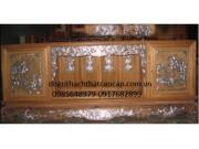 Tủ chè gỗ gụ  hàng mộc khảm ốc đẹp TC-08