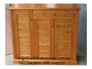 tủ giầy gỗ keo TĐG12