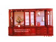 Tủ phòng khách gỗ gụ TPK-12