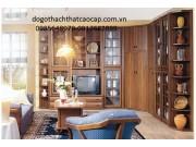 Tủ phòng khách gỗ gụ TPK-16