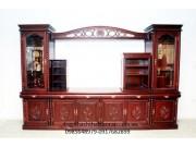 Tủ phòng khách gỗ gụ TPK-18