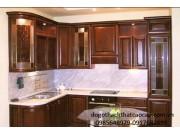Tủ bếp gỗ dổi TB12