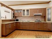 Tủ bếp gỗ công nghiệp TB14