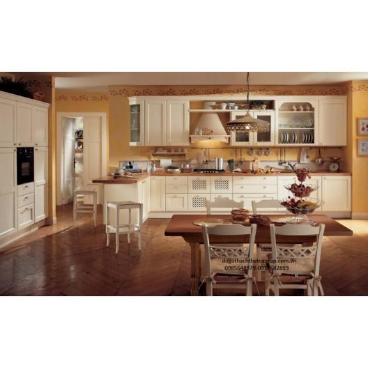 Tủ bếp gỗ dổi TB41