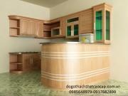Tủ bếp gỗ công nghiệp TB46