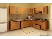 Tủ bếp gỗ công nghiệp TB57