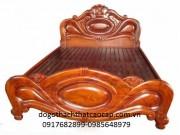 Giường ngủ gỗ gụ GN-02