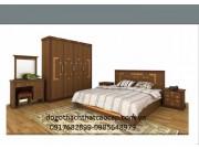 Giường ngủ gỗ công nghiêp GN-27