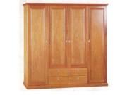 Tủ quần áo gỗ xoan đào lá TQA-01