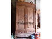Tủ quần áo gỗ gụ TQA-12