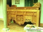 Bàn thờ án gian gỗ dổi đẹp AG02