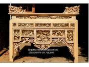 Bàn thờ án gian gỗ dổi AG05