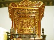 Khảm thờ gỗ mít (ngai) KT02
