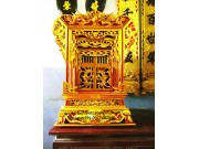 Khảm thờ sơn son thiếp vàng đẹp KT05
