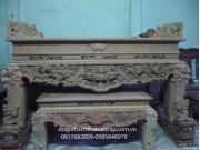 mẫu Sập thờ gỗ gụ ST06
