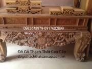 Mẫu sập thờ gỗ mít đẹp ST18