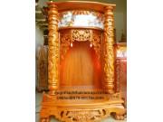 Bàn thờ thần tài gỗ dổi BTTT014