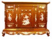 Tủ Thờ gỗ dổi TT38