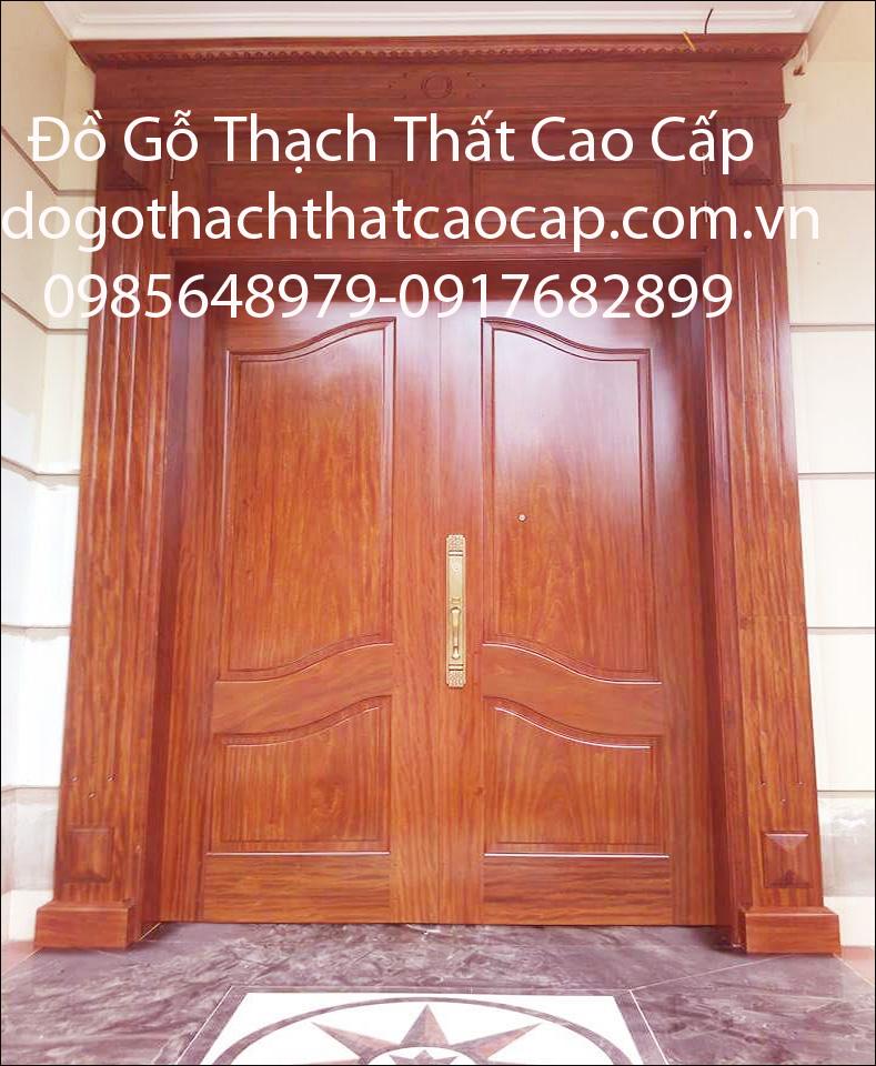 báo giá cửa gỗ lim lào