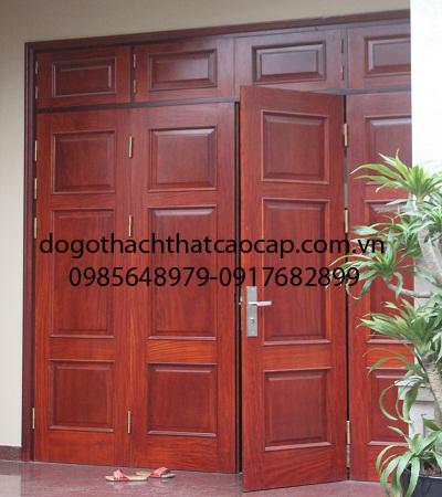 cửa thông phòng sơn trắng