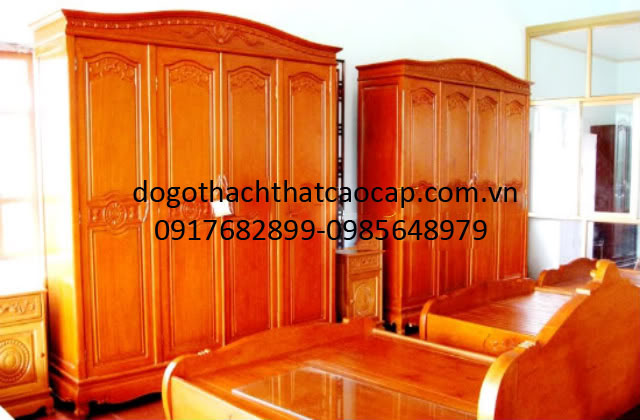Tủ áo gỗ dổi
